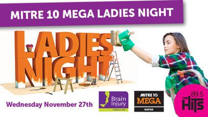 WIN VIP at Mitre 10 Mega Ladies Night