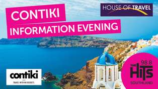 Contiki Information Evening with House of Travel Lakers Invercargill!