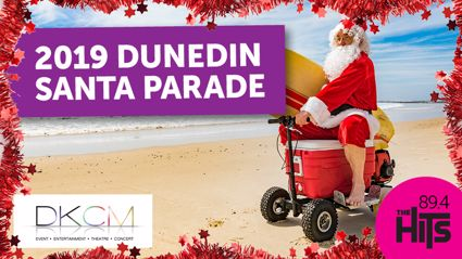 2019 Dunedin Santa Parade