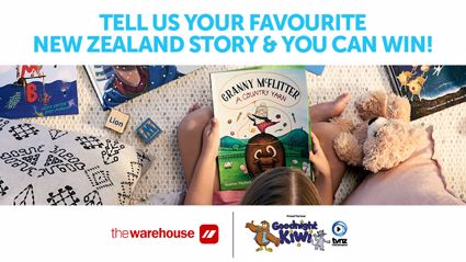 What's your favourite New Zealand story to read? Tell us to be in to win!