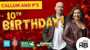 Callum and P's 10th Birthday!
