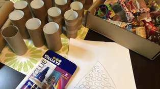 Try it Out Tuesday - Estelle attempts to DIY a Christmas Advent Calendar