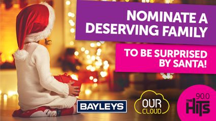 Nominate a Deserving Family to be Surprised by Santa!