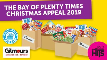 The Bay Of Plenty Times Christmas Appeal, With Gilmours