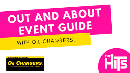 Out and About Events Guide - With Oil Changers!