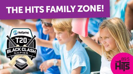 Win a spot at The Hits Family Zone!