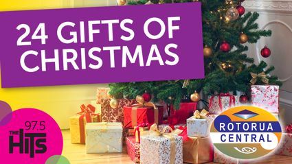 Win with the 24 Gifts of Christmas at Rotorua Central Mall