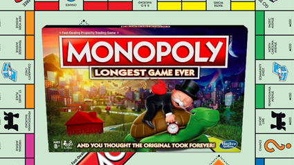 Monopoly releases 'longest game ever' edition for those who never want to stop playing