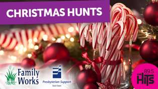 Christmas Hunts all thanks to Family Works!