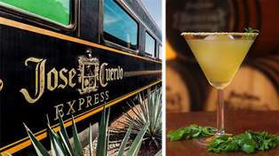 It turns out Tequila Train exists in the world and we so want a ticket to ride