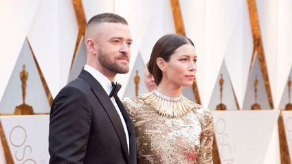 Justin Timberlake apologises to his 'amazing wife' over photos of him holding hands with co-star