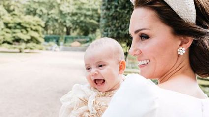 Kate Middleton reveals Prince Louis is starting to talk, and what he's saying is adorable