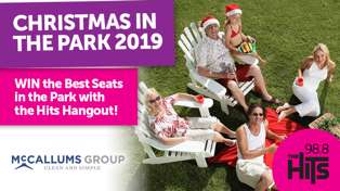 WIN The Best Seats in the Park at Christmas in the Park 2019!