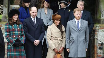 This is apparently how the royal family celebrates Christmas