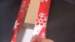 Genius hack reveals how to wrap a present when the wrapping paper is too small