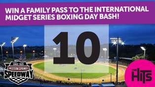 The Hits has your tickets The International Midget Series Boxing Day Bash at the Springs!