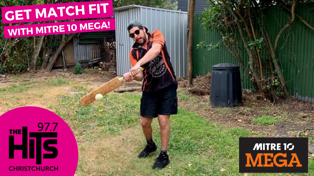 Get Match Fit with Mitre 10 Mega!