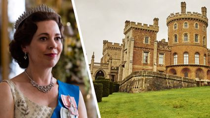 It turns out you can now stay in one of the luxurious castles from 'The Crown'