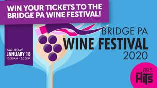 Win Tickets To The Bridge Pa Wine Festival!