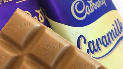 It turns out Cadbury Caramilk chocolate Easter eggs are a thing and we so want to try them