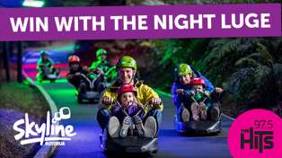 Win with the Night Luge