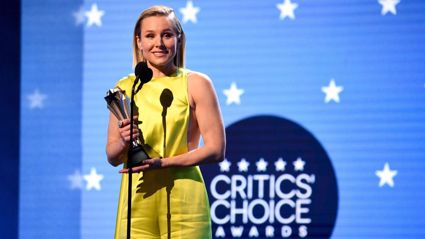 Kristen Bell shares powerful message for women during Critic's Choice #SeeHer Award acceptance speech