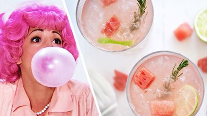It turns out Hubba Bubba Gin exists and we really want to try a glass