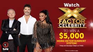 Win a $5,000 Home Entertainment System with The X Factor: Celebrity!
