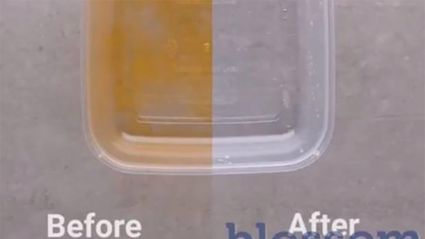 This simple five-step trick has gone viral for removing orange stains from tupperware containers