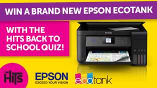 Win an Epson EcoTank Printer with The Hits Back to School Quiz!