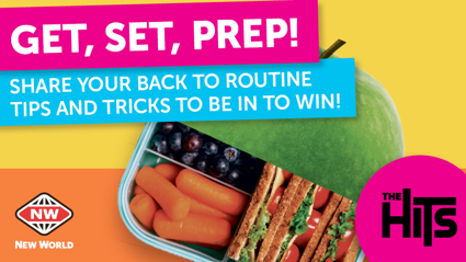 Get, Set, Prep!  You can be in to win a $100 New World voucher & chilly bag