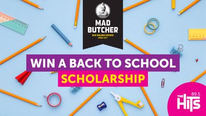 Back To School Scholarship thanks to Mad Butcher Hastings