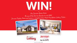 WIN a Heart Foundation Lottery Home in Nelson!