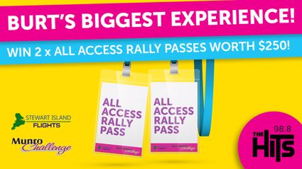 WIN Burt's Biggest Experience for You and a Friend Worth $250!!