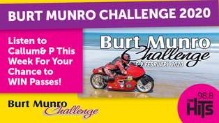WIN Spectator Passes to The Burt Munro Challenge with Callum & P!