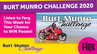 WIN Spectator Passes to The Burt Munro Challenge with Ferg!