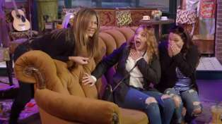 Watch the hilarious moment Jennifer Aniston left surprised 'Friend's fans crying