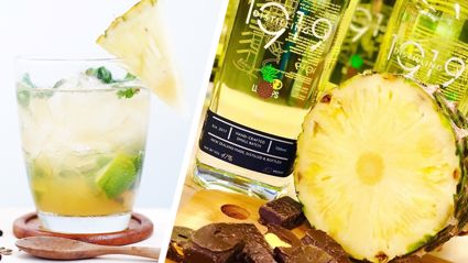 It turns out a Kiwi-made Pineapple Lump Gin exists and we can't wait to try a glass