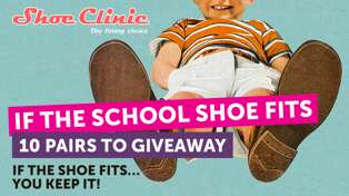 If the School Shoe Fits - You Keep Them! 10 FREE Pairs to Giveaway!
