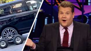 James Corden addresses 'Carpool Karaoke' driving scandal in the most hilarious way