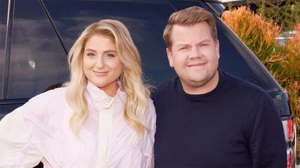 Meghan Trainor reveals sweet way she met her husband, freaks out over Dr Phil on 'Carpool Karaoke'
