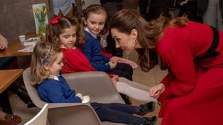 Kate Middleton's sweet response to a disappointed girl expecting her to look like Cinderella