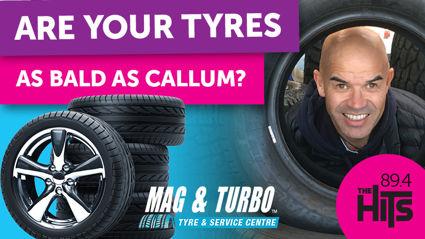 Are Your Tyres as Bald as Callum?