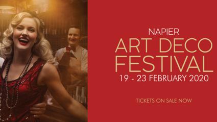 WIN A VIP EXPERIENCE AT NAPIER ART DECO 2020!