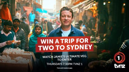 Win a trip to the Sydney to dine at one of Jamie Oliver's restaurants thanks to Jamie's Ultimate Veg!