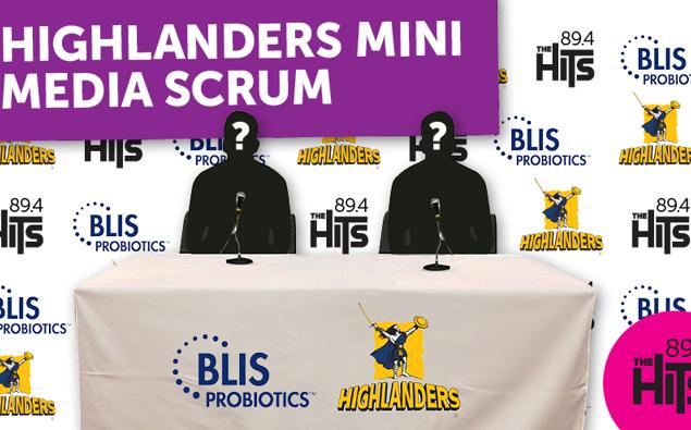 Highlanders Mini Media Scrum