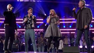 'The Voice' coaches wow with an epic performance of Nick Jonas' song 'Jealous'