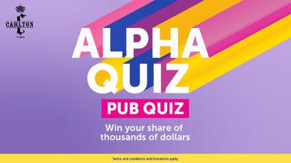 Join Dave at Carlton for an Alpha pub quiz!