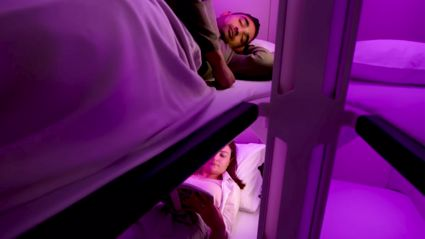 Air New Zealand unveils first look at brand new 'Economy Skynest' lie flat beds