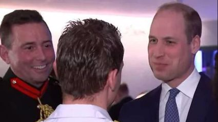 Prince William jokes with medics about 'spreading coronavirus' with Kate Middleton on Ireland trip